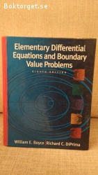 Elementary Differential Equations and Boundary Value Problem