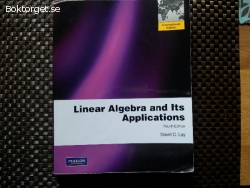 Linear Algebra and Its Applications av David C Lay Upplaga 4