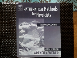 Mathematical Methods For Physicists International Student Ed