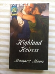 11550 - Margaret Moore - Highland Heiress - (engelsk text)