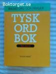 12151 - Tysk Ordbok Tysk-Svensk - 84.000 Ord Och Fraser