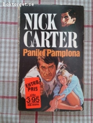 1523 - Nick Carter - Panik I Pamplona