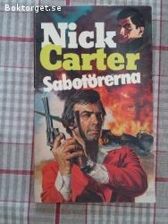 1524 - Nick Carter - Sabotörerna
