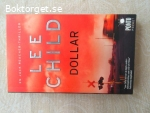 16138 - Lee Child - 3st - Dollar + Dubbelspel + Ingen Återvändo