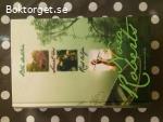 16286 - Nora Roberts - Blå Dahlia + Svart Ros + Röd Lilja - (3 böcker i en vol)