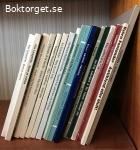 18 olika böcker om antikviteter