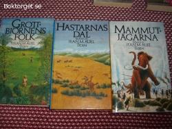 3 romaner av Jean M Auel säljes