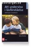 Barbro Westlund - Att undervisa i läsförståelse