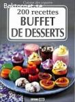 Buffet de desserts-200 recettes