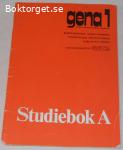 gena 1 Studiebok A; från 80-talet