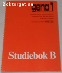 gena 1 Studiebok B; från 80-talet