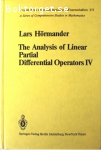 Hörmander, Lars / The Analysis of Linear Partial Differential Operators IV