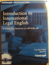 Introduction to International Legal English: a Course for...