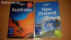 Lonely Planet Australia & New Zealand med pull-out maps
