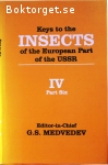 Medvedev, G. S. (ed.) / Keys to the Insects of the European Part of the USSR - Volume IV - Part VI