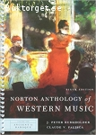 Norton Anthology of Western Music, Sixth edition, Volume One-Three