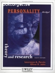 Personality: Theory and Research (8th Edition)