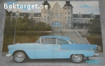 Poster från Colorod: Chevrolet Bel Air Super Sport Coupe 1955