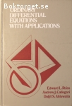 Reiss, Edward L. m.fl. / Ordinary Differential Equations With Applications