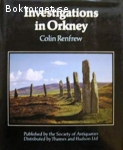 Renfrew, Colin / Investigations in Orkney