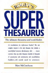 Roget´s Super Thesaurus