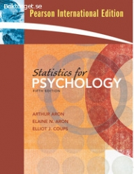Statistics for Psychology, Arthur Aron et al. (5th edition)