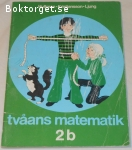 tvåans matematik 2b; från 70-talet
