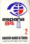 Utställningskatalog 2 españa 84