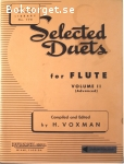 Voxman, H. (ed.) / Selected Duets for Flute - Volume 1-2 (1: Easy-Medium, 2: Advanced)